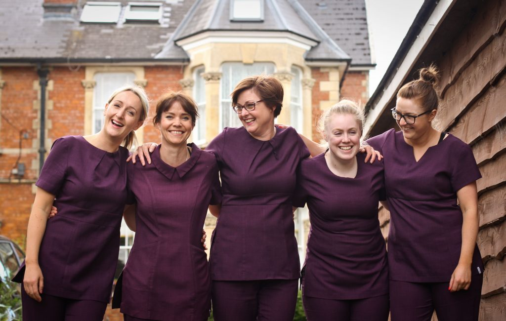 A group picture of The Garden Room Staff