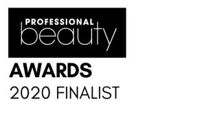 Professional Beauty Awards finalists badge